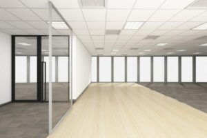 Post construction cleaning by Kat's Services for your new office or other commercial space.