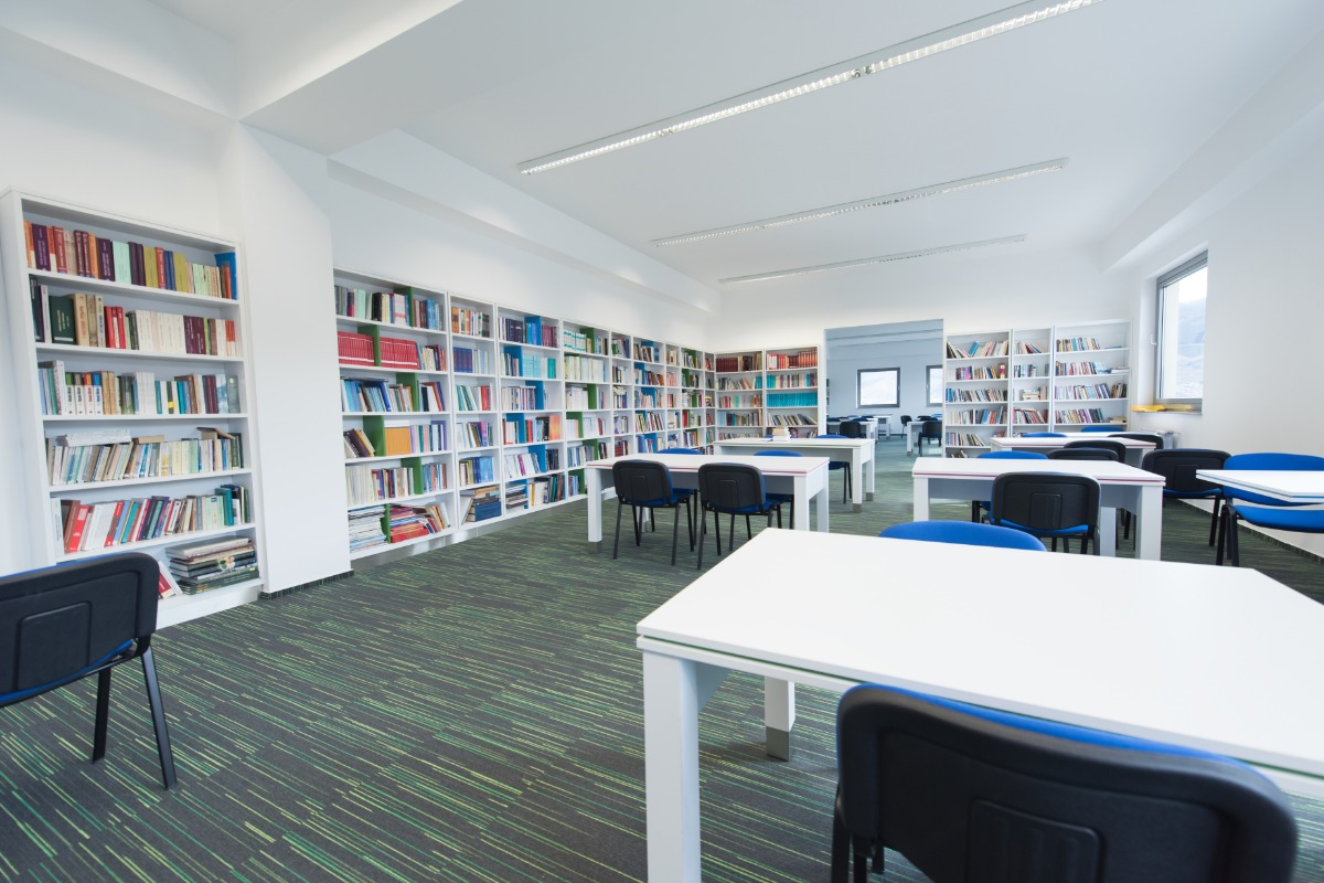 School library commercial cleaning services